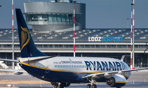 Ryanair increases frequency from Lodz to London Stansted